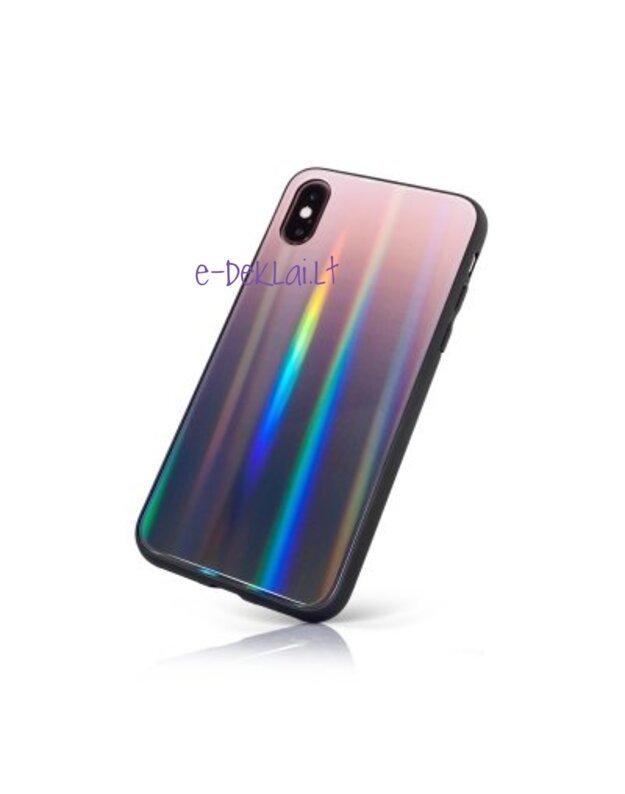 Dėklas Xiaomi Redmi 7A Aurora, rudas/juodas