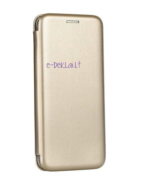 Dėklas Samsung G960 S9 Book Elegance, auksinis