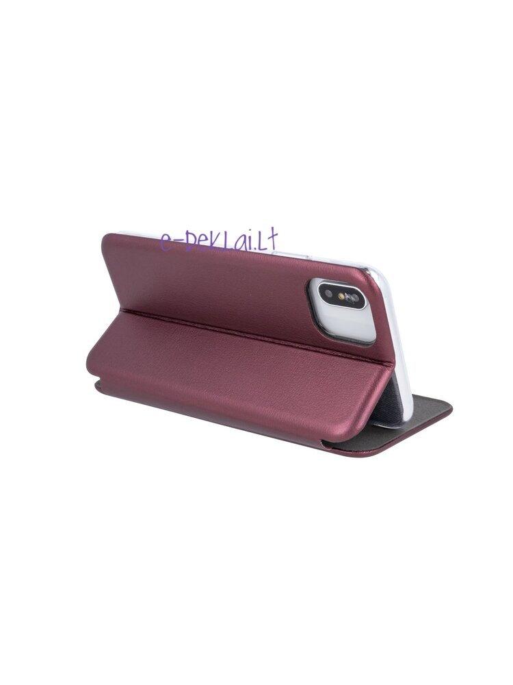 Dėklas Samsung G965 S9 Plus Book Elegance, bordinis
