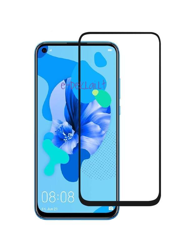 Apsauginis stikliukas Huawei Honor 9X 5D pilnai dengiantis ekraną