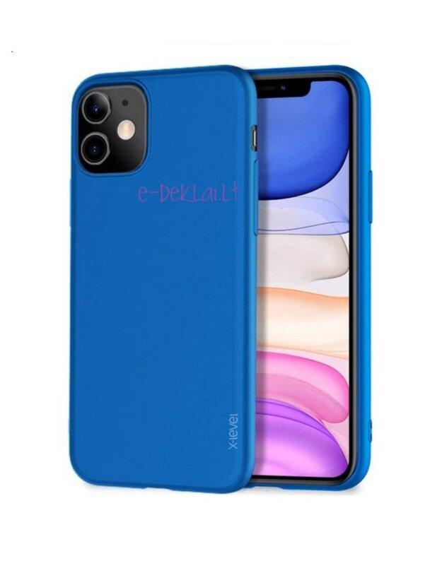Dėklas Apple iPhone 11 Pro Pipilu Guardian, mėlynas