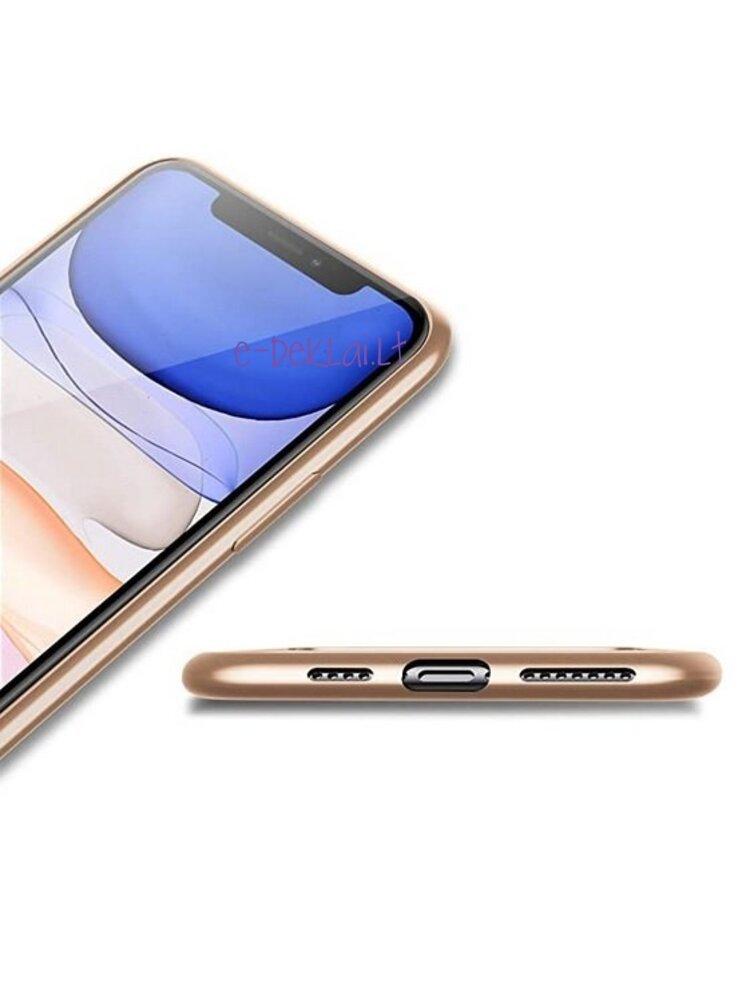 Dėklas silikoninis Samsung A72 Pipilu Guardian, auksinis