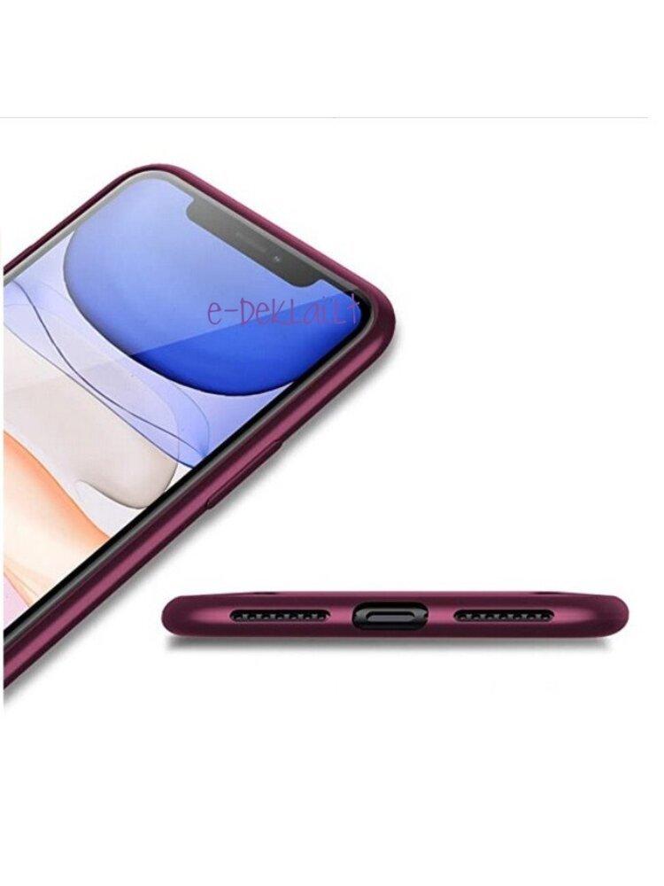 Dėklas silikoninis Samsung S21 Ultra X-Level Guardian, bordinis