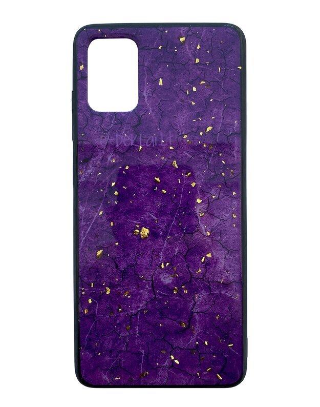 Dėklas Samsung G981 S20 Ultra Marble, violetinis