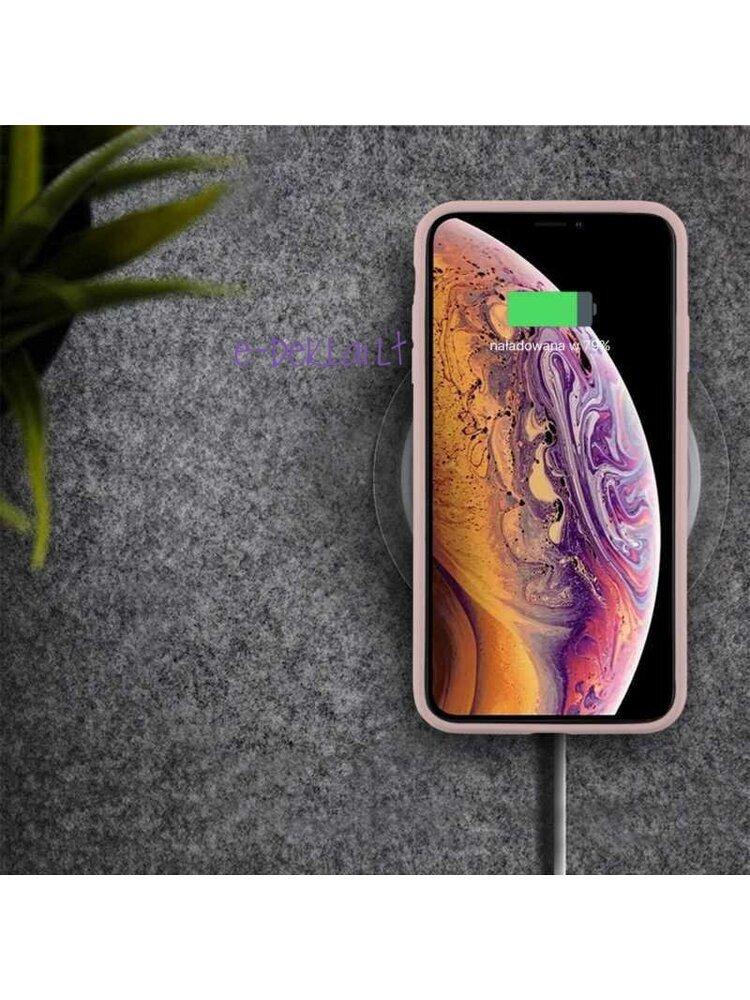 Dėklas Apple iPhone 12 mini Mercury Silicone case, rožinis