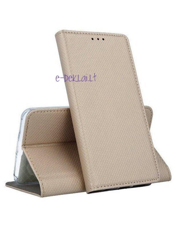 Dėklas Nokia 2.4 Smart Magnet, auksinis