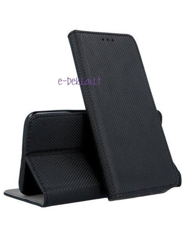 Dėklas Nokia 2.4 Smart Magnet, juodas