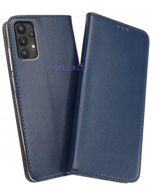 Dėklas Samsung A32 4G 6,4 colių Smart Magnetic, mėlynas