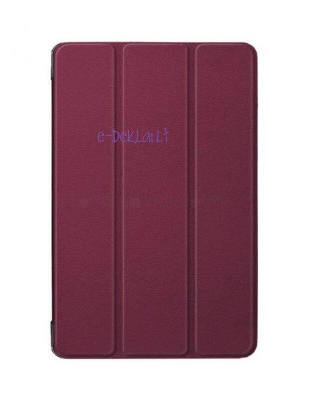 Dėklas Lenovo Tab M10 HD 10.1 TB-X306 (2nd Gen) Smart Leather, bordinis