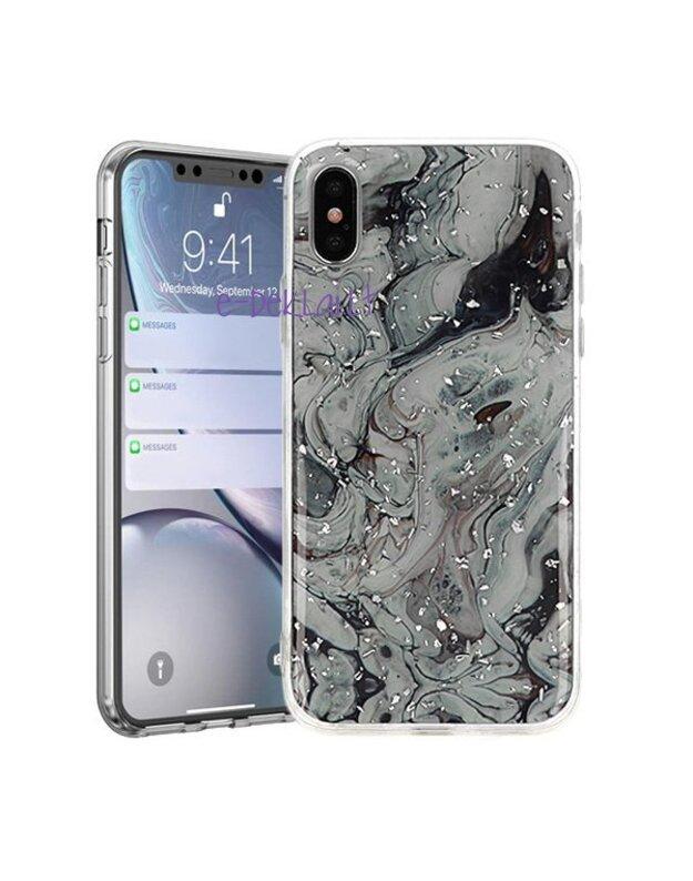 Dėklas Samsung A105 A10 Vennus Brilliant, juodas