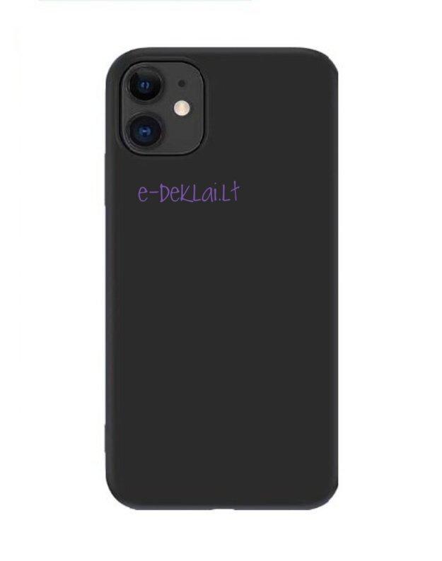 Dėklas silikoninis Samsung G965 S9 Plus X-Level Dynamic, juodas