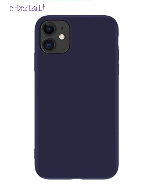 Dėklas Apple iPhone 12 mini X-Level Dynamic, tamsiai mėlynas
