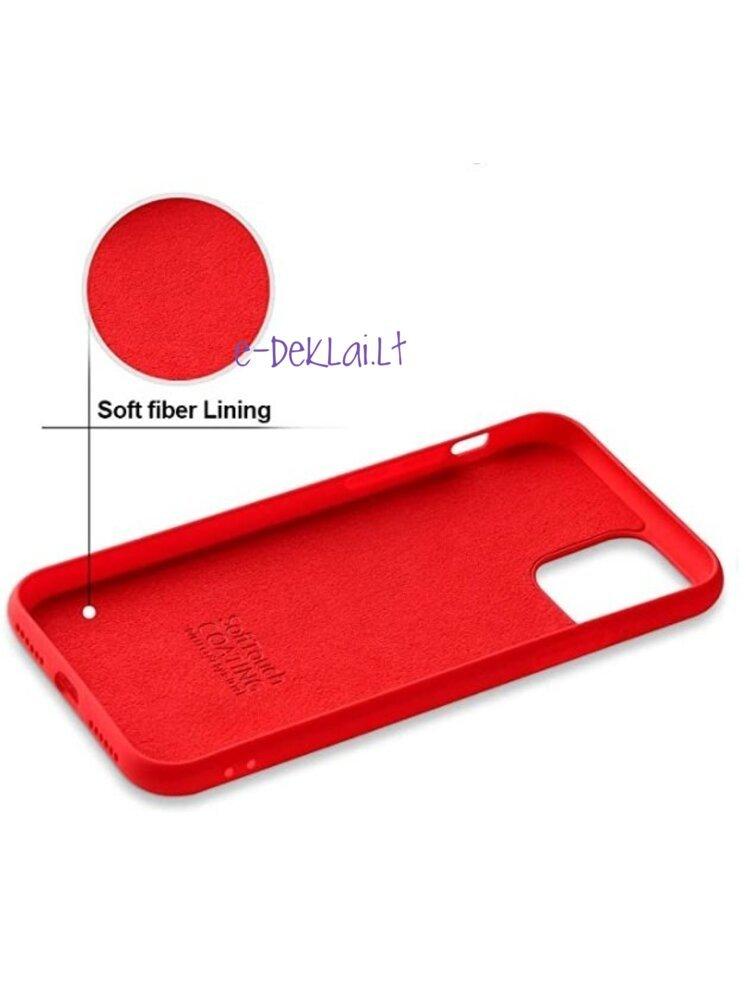 Dėklas silikoninis Xiaomi Redmi 9C X-Level Dynamic, raudonas