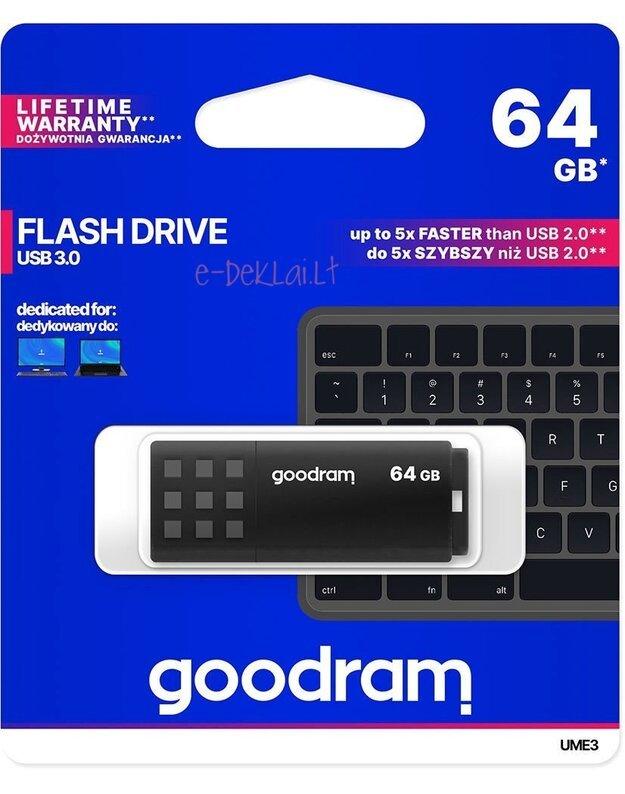 Atmintinė Goodram UME3 64GB USB 3.0