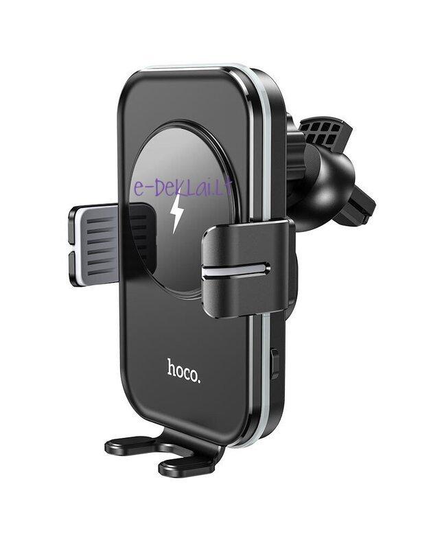 Telefono laikiklis HOCO CA80 tvirtinamas į ventiliacijos groteles su krovimo funkcija